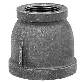 Black Malleable Coupling